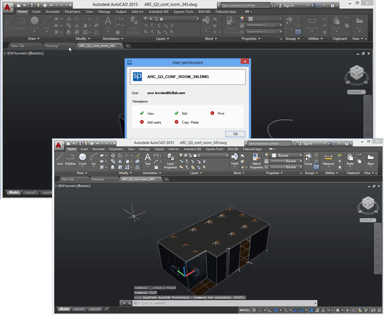 SealPath supports integration with new versions of AutoCAD - Sealpath