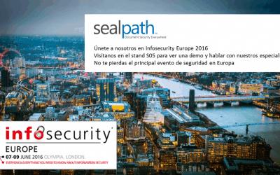 ¡Ven a visitarnos a Infosecurity Europe!