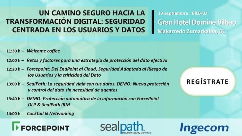 Evento Bilbao seguridad transformacion digital