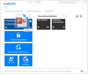 Proteger documentos slack y teams sealpath