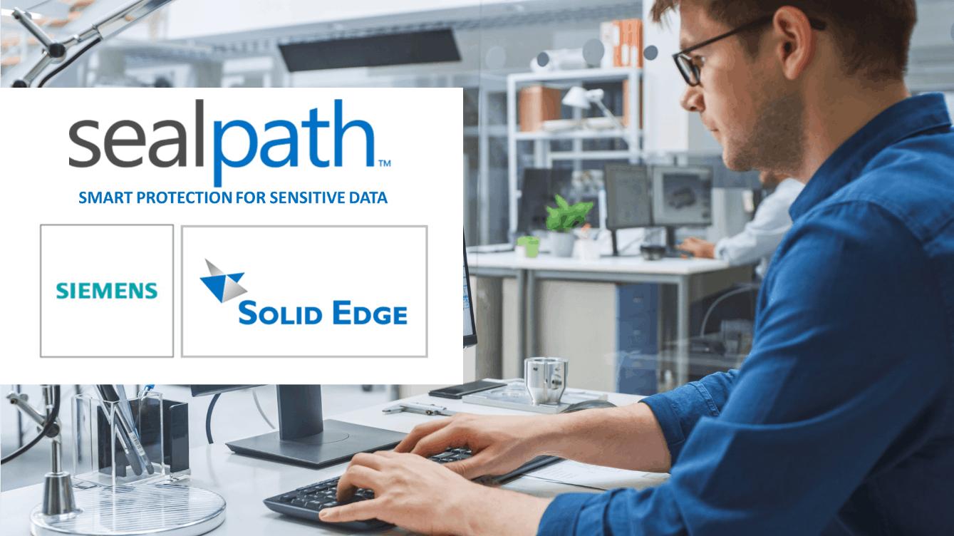 sealpath proteger diseños solid edge siemens
